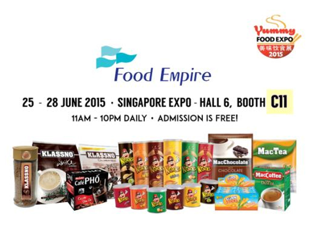 Food Empire Participates In Yummy Food Expo 25th To 28th June