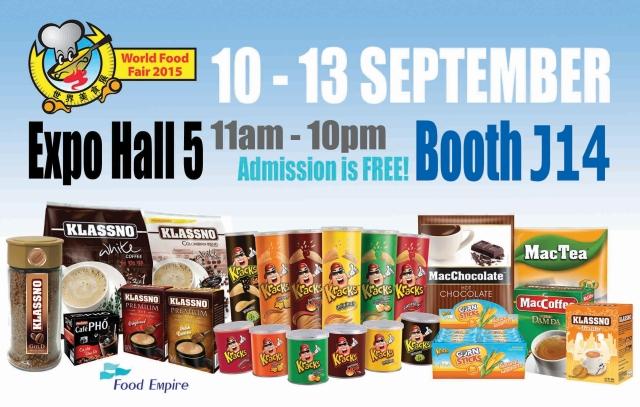 Food Empire Participates In World Food Expo Singapore Food Empire