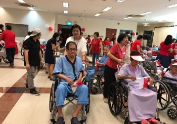 National Day Celebration at the All Saints Home