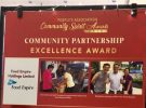 Food Empire presented with the Community Partnership Excellence Award 2018