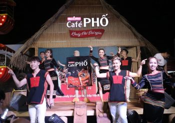 Café PHO at the 7th Buon Ma Thuot Coffee Festival in Vietnam