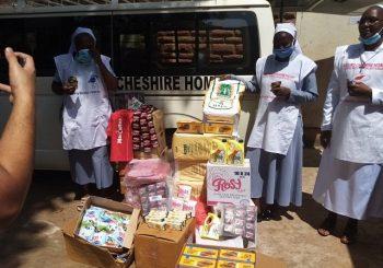 MacCoffee Kenya Donates Coffee and T-Shirts to Limuru Cheshire Home