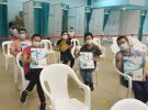 Distribution of Instant 3in1 Beverages to Frontliners of Raffles Medical  Vaccination Centre @ Sengkang Community Club